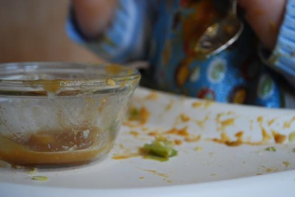 Dinnertime is a mess!