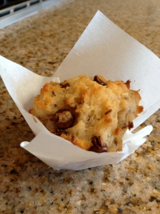 Coconut-Chocolate Chip Muffins