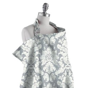 This is similar to the Bebe Au Lait nursing cover I have. I love it and I have used it a lot, but I am not always graceful about it.
